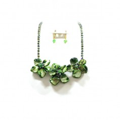 NECKLACE SET 202677340895 GREEN